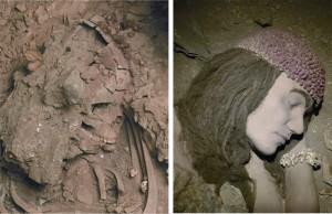 Scheletro e Diorama Donna di Ostuni