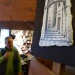Croci Sisinni e una sua opera