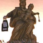 Statua Madonna del Carmine e l'abitino