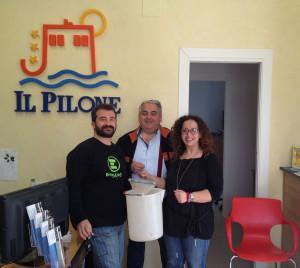Giuseppe Flore e I Proprietari Camping Pilone
