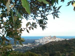Vista panoramica dai colli di Ostuni
