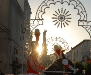 """The festivity """"Cavalcata"""" of Saint Oronzo"""