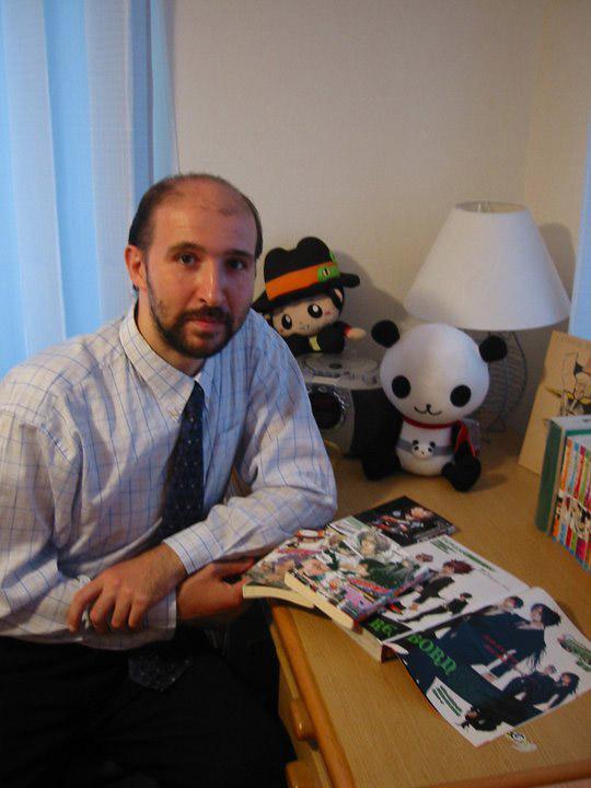 Antonio Maizza docente di italiano in Giappone