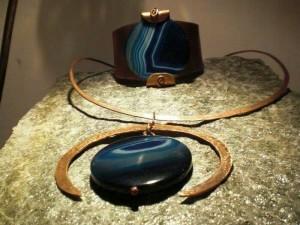 Collane pietra e rame