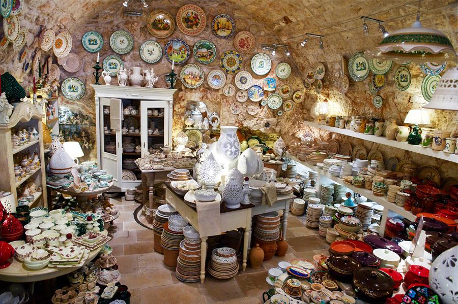 Negozio di ceramiche