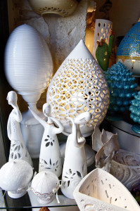 Pomo artigianale in ceramica