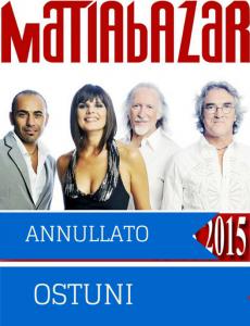 Annullato Concerto 27/8/2015 al Foro Boario Ostuni