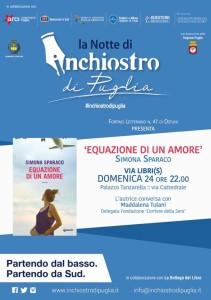 La Notte di Inchiostro di Puglia  24 Aprile 2016